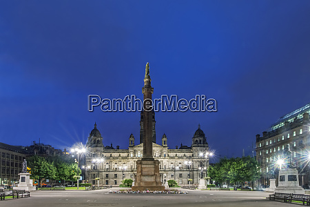 uk, , scotland, , glasgow, , george, square, at - 27333369